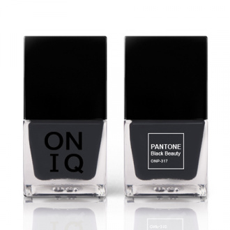 ONIQ, Лак для ногтей Pantone, Black Beauty