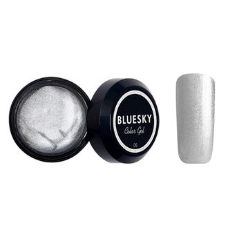 Bluesky, Гель-краска Color gel №06, серебряная