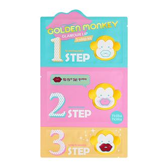 Нolika Holika, Набор для ухода за губами «Golden Monkey Glamour Lip»