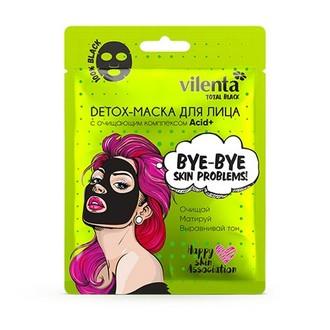 Vilenta, Detox-маска для лица c комплексом Acid+, 25 мл