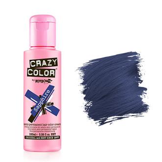 Crazy Color, Краска для волос №72, Sapphire