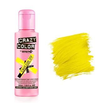 Crazy Color, Краска для волос №77, Caution UV