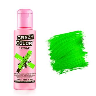 Crazy Color, Краска для волос №79, Toxic UV