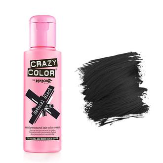 Crazy Color, Краска для волос №32, Natural Black
