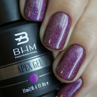 BHM Professional, Гель-лак APEX GEL №17, Amethyst