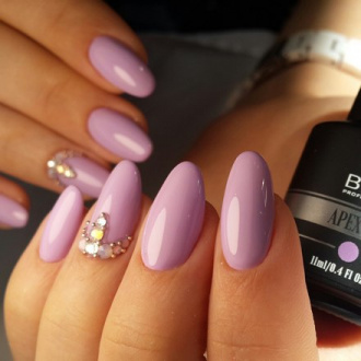 BHM Professional, Гель-лак APEX GEL №20, Purple haze