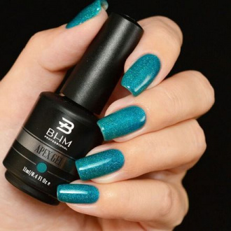 BHM Professional, Гель-лак APEX GEL №49, Marine blue