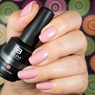 BHM Professional, Гель-лак APEX GEL №68, Dusty rose