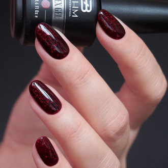 BHM Professional, Гель-лак APEX GEL №91, Indian garne