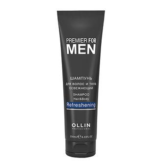 OLLIN, Шампунь Premier for men, 250 мл