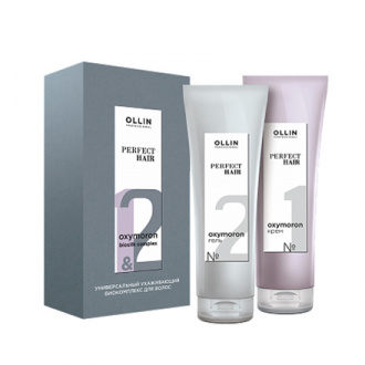OLLIN, Комплекс Perfect Hair Oxymoron Biosilk, 2х250 мл