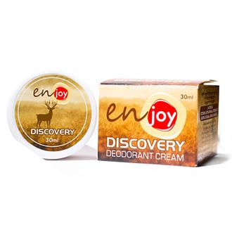 Enjoy, Крем-дезодорант Discovery, в баночке, 30 г
