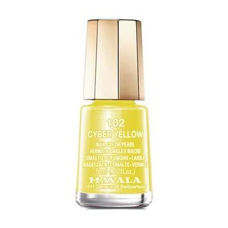 Mavala, Лак для ногтей №102, Cyber Yellow