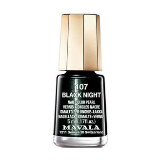 Mavala, Лак для ногтей №107, Black Night