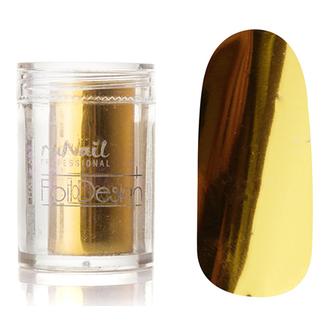 ruNail, Фольга для дизайна ногтей №1986, золотая