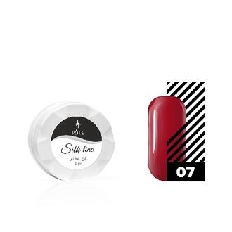 POLE, Гель-краска Silk line №07, красная