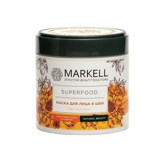 Markell, Маска для лица и шеи Superfood «Гидробаланс», 100 мл