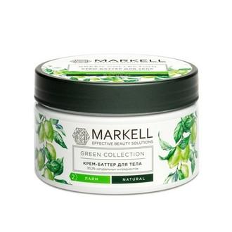 Markell, Крем-баттер для тела Green Collection, лайм, 250 мл
