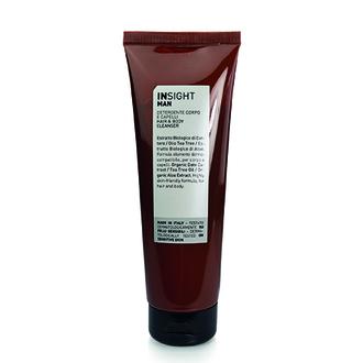 INSIGHT, Очищающее средство для волос и тела Man, 250 мл