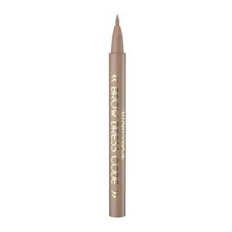 Art-Visage, Фломастер для бровей Brow dress code устойчивый, тон 801 светло-коричневый