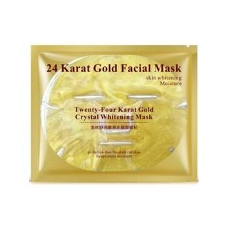 Bioaqua, Гидрогелевая маска для лица 24 Кarat Gold, 60 г