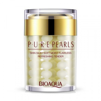 Bioaqua, Крем для лица Pure Pearls, 60 г