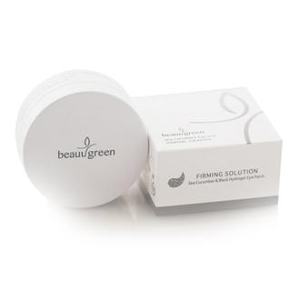 BeauuGreen, Гидрогелевые патчи для глаз Sea Cucumber&Black, 60 шт.