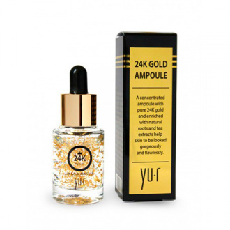 Yu-r, Сыворотка для лица Gold Ampoule, 15 мл