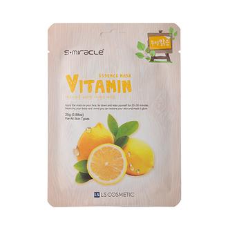S+miracle, Маска для лица Vitamin Essence, 25 г