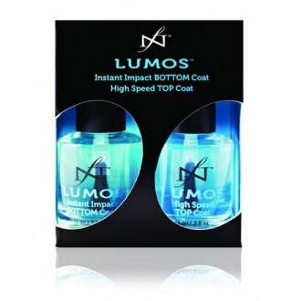 Famous Names, Набор Lumos Duo Pac (Top Coat 14,3 ml + Bottom Coat 15 ml)
