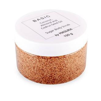 Masura, Сахарный скраб для рук и тела Coconut and Almond, 150 г