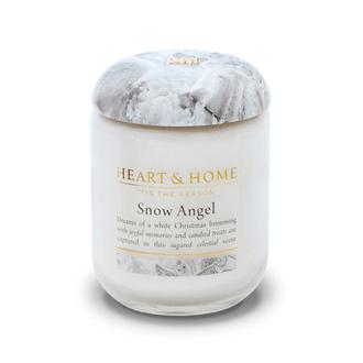 Heart&Home, Свеча «Снежный ангел», маленькая, 110 г