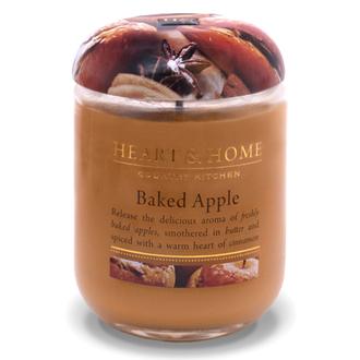 Heart&Home, Свеча «Запечное яблоко», большая, 310 г