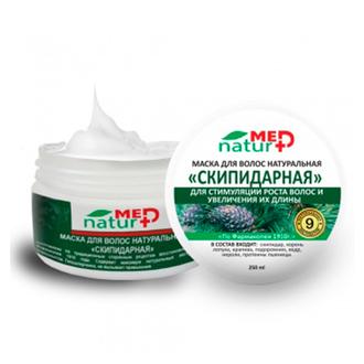 NaturMed, Маска для волос «Скипидарная», 250 мл