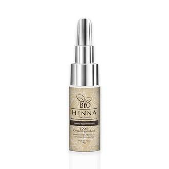 Bio Henna Premium, Хна для бровей, темно-коричневая