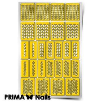 Prima Nails, Трафареты «Вязаная сказка»