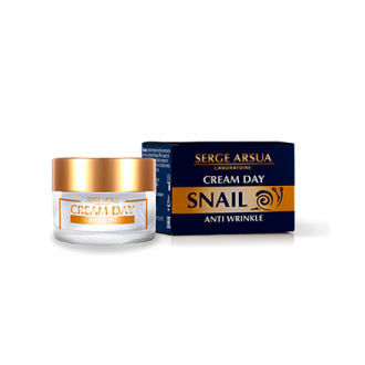 Serge Arsua, Дневной крем для лица Snail, 30 мл