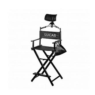 Lucas' Cosmetics, Кресло визажиста с подголовником, алюминий