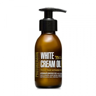 Protokeratin, Восстанавливающее средство White Cream Oil, 100 мл