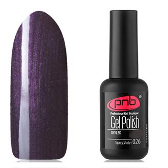 Гель-лак PNB №026, Spacy violet