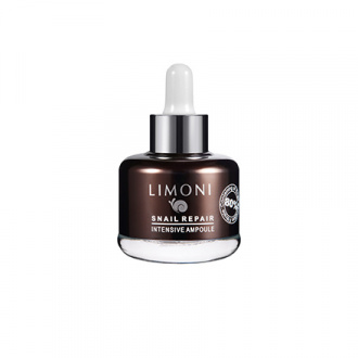 LIMONI, Сыворотка для лица Snail Repair Intensive Ampoule, 25 мл