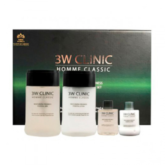 3W Clinic, Мужской набор Moisturizing Freshness Essential