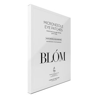 BLOM, Патчи для глаз «Увлажнение и разглаживание», 1 пара