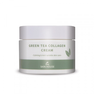 The Skin House, Крем для лица Green Tea Collagen, 50 мл
