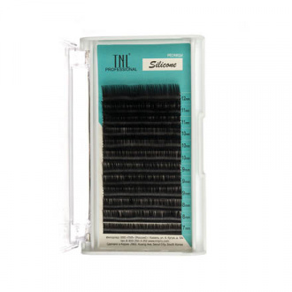 TNL, Ресницы на ленте силиконовые 0,15 мм, B-изгиб