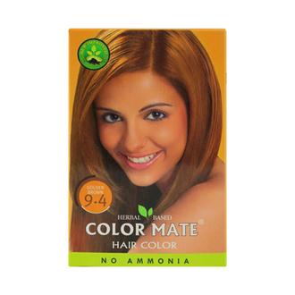 COLOR MATE, Травяная краска для волос 9.4
