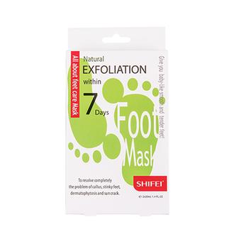 Shifei, Маска для ног Natural Exfoliation 7 Days, 1 шт.