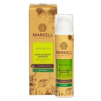 Markell, Крем-комфорт «Bio-Helix» для жирной и комбинированной кожи, 50 мл