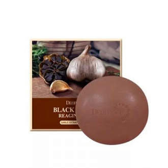 Deoproce, Мыло Black Garlic Reaging, 100 г