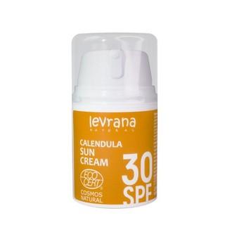 Levrana, Солнцезащитный крем «Календула» 30 SPF, 50 мл